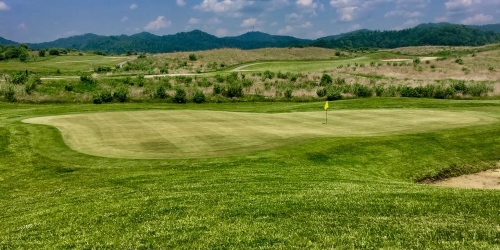 Twisted Gun Golf Course West Virginia golf packages